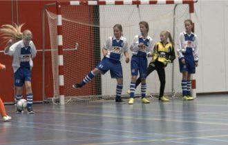 VV de Lauwers zaalvoetbaltoernooi voor groep 3 t/m 5 van de basisschool op zaterdag 27 januari