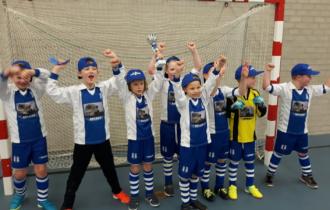 De Lauwers JO9 wint FVVK zaalvoetbal toernooi!