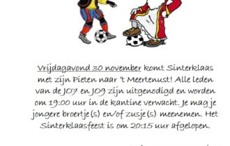 Sinterklaasfeest VV de Lauwers 30 november