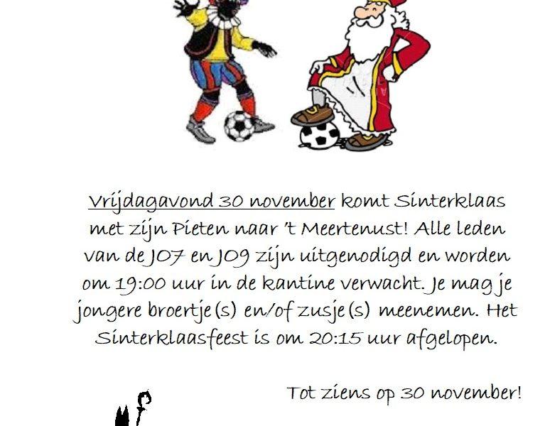 Sinterklaasfeest VV de Lauwers 30 november