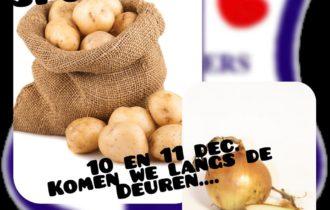 Aardappelen en uien actie