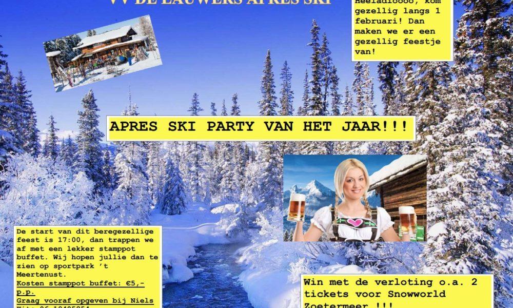 VV de Lauwers Après-ski party