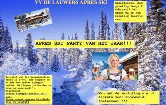 Opbrengst Après-ski party